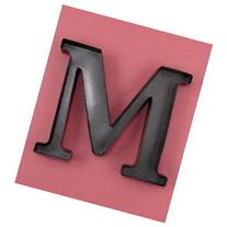 "Personalized Letter ""M"" Metal Wall Wine Cork Holder -"