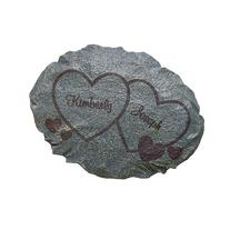 Personal Creations Personalized Two Hearts Garden Stone