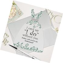 Personalized will you be my bridesmaid card? Bridesmaid