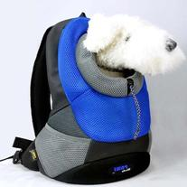 Crazy Paws Pet Backpack Large Blue