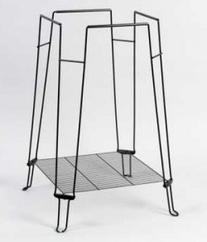 BPV871 Clean Life Metal/Plastic Bird Cage Stand, 28-Inch,