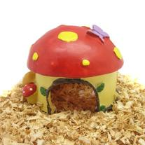Alfie Pet by Petoga Couture - Mushroom Hideout Hut for Small
