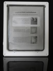 Namsan Pet Screen Door Protector With Telescoping Frame -
