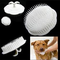 Pet Hair Shampoo Scalp Body Massage Cleanning Brush Dog Cat