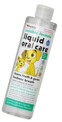 Petkin Pet Liquid Oral Care, 8-Ounce Bottle