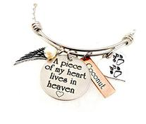 Pet Loss A Piece of My Heart Lives In Heaven Personalized