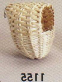 Prevue Pet Products BPV1155 Bamboo Covered Breeding Nest Hut
