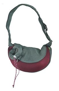 Wacky Paws Pet Sling, X-Large, Burgundy