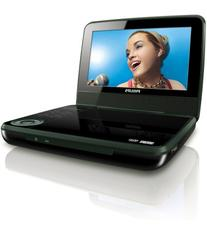 Philips PET741B/37 Portable DVD Player with 7-Inch LCD,