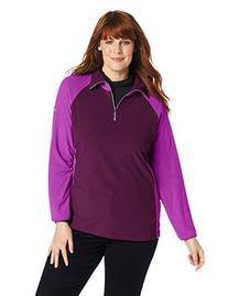 Columbia Women's Petite-Plus-Size Glacial Fleece III 1/2 Zip