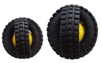 Pet Qwerks X Tire Ball Dog Toy with Animal Noises, Makes