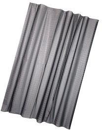 Kiera Grace PEVA Shower Curtain, 70 by 72-Inch, Grey