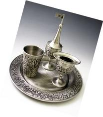 Pewter Havdalah Set - Jerusalem by Karshi