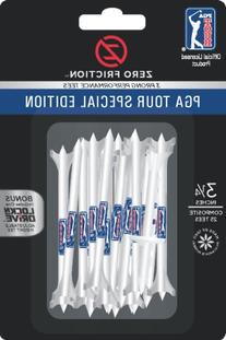 Zero Friction PGA Tour Special Edition 3-Prong Golf Tees