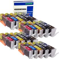 ink4work Set of 20 Pack PGI-250XL & CLI-251XL Compatible Ink