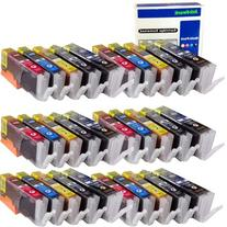 ink4work Set of 30 Pack PGI-250XL & CLI-251XL Compatible Ink