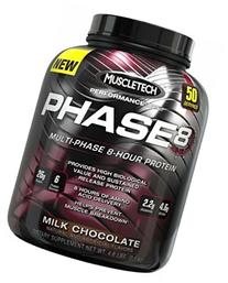 MuscleTech Phase 8 Protein Powder, Multi-Phase 8-Hour