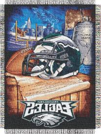 Philadelphia Eagles Woven Tapestry Throw Blanket