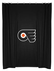 Philadelphia Flyers NHL Locker Room Shower Curtain