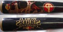 Philadelphia Phillies 2008 World SeriesÊImageÊBaseball Bat