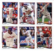 Philadelphia Phillies Topps Baseball Cards Team Sets : 2012