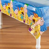 Phineas And Ferb Plastic Table Cover