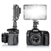 TOLIFO Photo Studio 176 LED Ultra Bright Dimmable On Camera