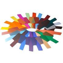 Neewer 10076679 Photographic 20-Piece Speedlite Flash Color