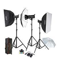Godox Proffesional 1200W Photography Flash Studio Strobe kit
