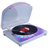 Ion Audio photon w-dustcover Multi-Color Lighted Turntable