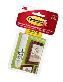 Command Picture & Frame Hanging Strips Value Pack, Large,
