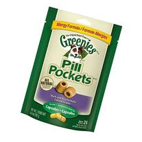 GREENIES PILL POCKETS Soft Dog Treats, Grain Free Duck & Pea