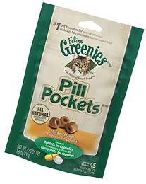 6-PACK Pill Pockets for Cats CHICKEN 9.6 oz
