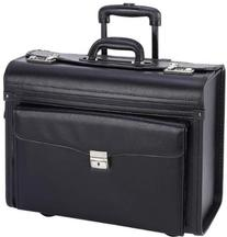 """19"""" Sample /Pilot Case With Aluminum Trolley"""