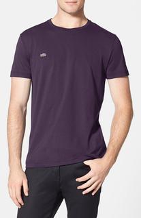 Men's Lacoste Pima Cotton Crewneck T-Shirt, Size 3 - Blue
