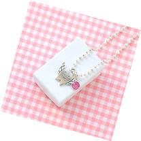 Pink Charm Lost Tooth Necklace Tooth Fairy Gift