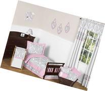 Sweet Jojo Designs 5-Piece Pink, Gray and White Elizabeth