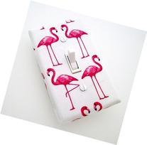 Pink Flamingos Switch Plate Cover