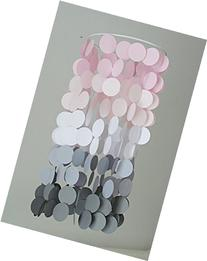 Pink and Gray Ombre Crib Mobile