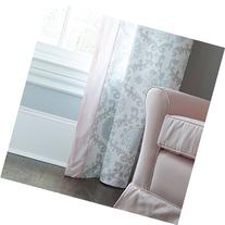 Carousel Designs Pink and Gray Rosa Drape Panel  64-Inch