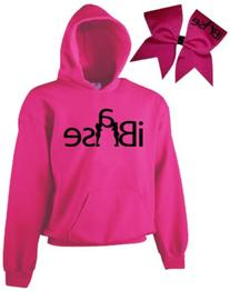 Chosen Bows Hot Pink iBase Cheer ComBow, Black Print, Adult