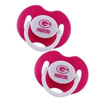 Pink Pacifier, Green Bay Packers, 2-Count