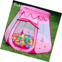 Babrit Pink Princess Castle Fairy House Outdoor Play Tent