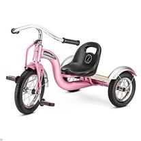 "New 12"" Pink Retro Tricycle Schwinn Roadster Kids Trike"