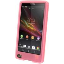 MarchMore Pink Silicon Skin Case Cover For Sony Walkman NWZ-