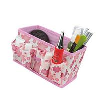 Domire Newest Pink Makeup Cosmetic Storage Box Bag Bright