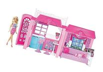 Barbie Pink Tastic Glam Vacation House & Doll Exclusive Set
