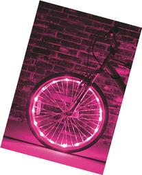 Brightz, Ltd. Pink Wheel Brightz LED Bicycle Accessory Light