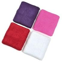 4 pair of COSMOS ® Pink/White/Red/Purple cotton sports