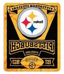 Pittsburgh Steelers 50x60 Fleece Blanket - Marque Design